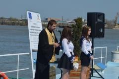 Кръщаване на кораб за хидрографски проучвания