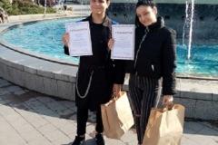 """Ученици от ПГРКК участваха в конкурс по фотография """"Съдебната палата на град Русе през четирите сезона"""""""