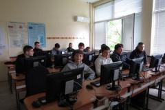 Работа с различни софтуери в час по математика