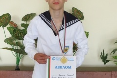 Първо място в Националното ученическо състезание по Авиомоделизъм на ученик от Професионална гимназия по речно корабостроене и корабоплаване